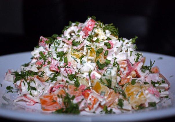 Как сделать салат сладкий