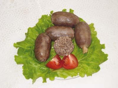 Домашняя колбаса с пшеномы