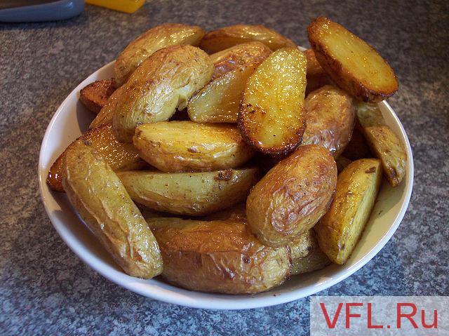 Печеная картошка в фольге рецепт фото