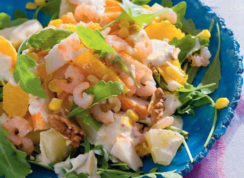 королевский салат из крабовых палочек рецепт с фото